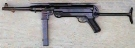 MP40 6 mm Feder-Softairpistole -neu-