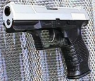 Airsoftgun Walther P99 bi-color Heavy Weight 6 mm Feder-Softairp